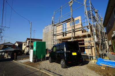 【外観】保土ヶ谷区仏向町 全2棟新築戸建【成約済】