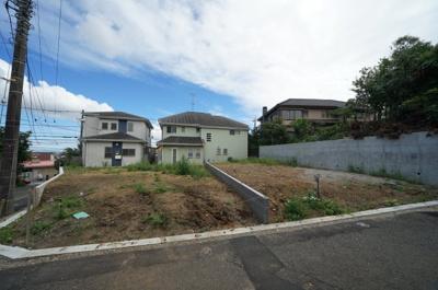 【外観】保土ヶ谷区仏向町 全2区画建築条件付売地【成約】