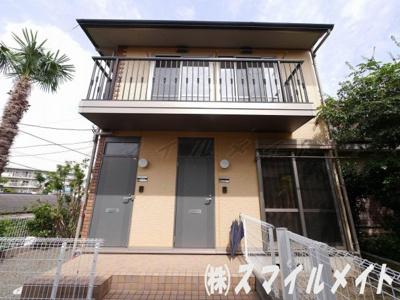戸建て感覚1フロア1世帯のアパートです。
