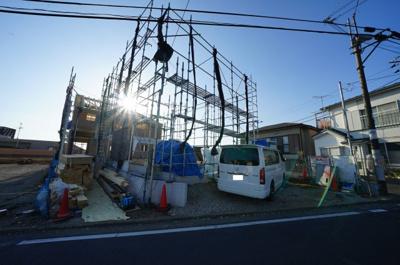 【外観】保土ヶ谷区初音ヶ丘 全3棟新築戸建て【成約】