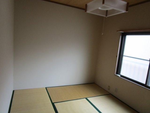 和室にもエアコンがあります。