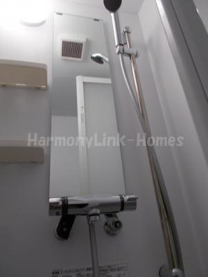 ハーモニーテラス加平のコンパクトで使いやすいシャワールームです