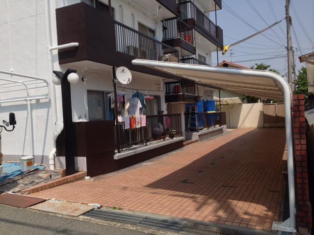 【駐車場】渋谷ハイツ