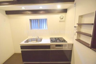 【キッチン】野田2丁目貸家