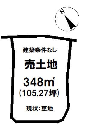 【土地図】山田町諏訪 売土地