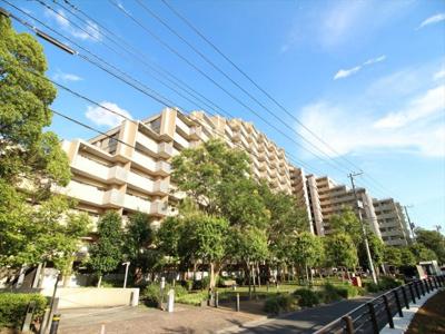 【外観】コスモ21ザガーデンズフォート  14階 最 上階 角 部屋