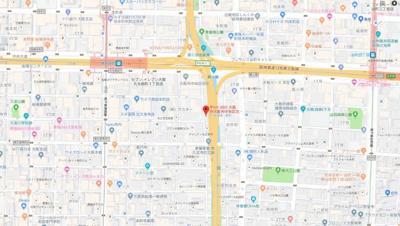 【地図】ERI北久宝寺ビル