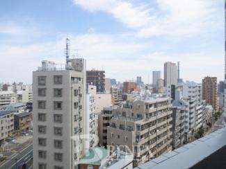 プレール・ドゥーク東新宿Ⅲの展望です