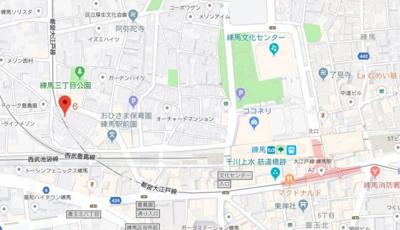 【地図】ビーカーサ練馬
