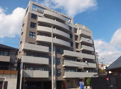 高台に立地するRC7階建てマンション★