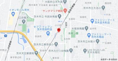 【地図】隆起ハイツ