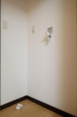 室内洗濯機置き場は必須ですね♪