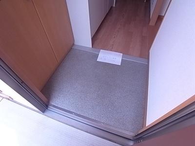 【玄関】ウエストベルハイム