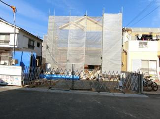 広い立派な新築住宅の誕生です 完成が待ち遠しいですね