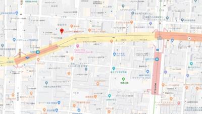 【地図】エスリード長堀タワー