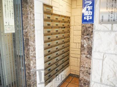 ガラ・ステージ市ヶ谷壱番館のメールボックス