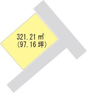 【区画図】【売地】下津第二中学校区・120053
