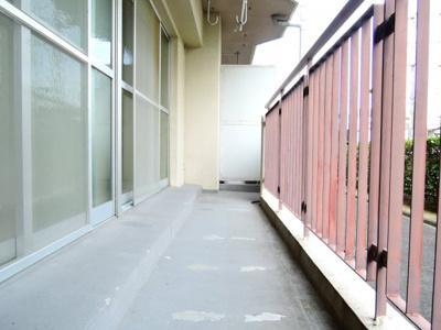 【バルコニー】ウエストハイツP1