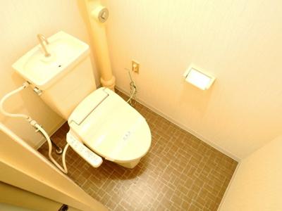 【トイレ】ウエストハイツP1