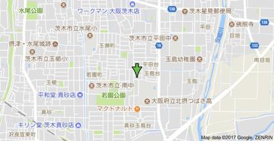 【地図】ピュア メゾン