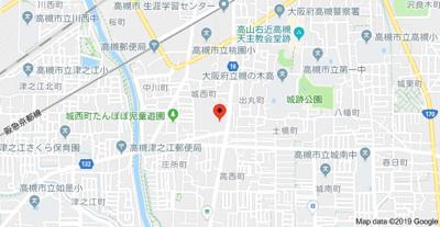 【地図】コート摂津
