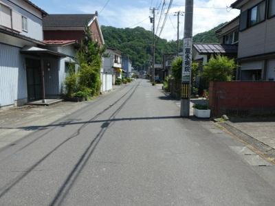【前面道路含む現地写真】福井市月見5丁目