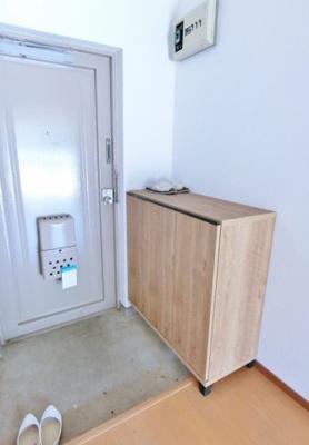 【玄関】アパートマキ