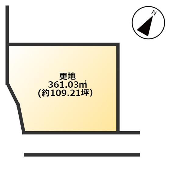 【土地図】香芝市穴虫 土地