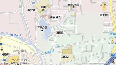 【地図】ハイムパーシモン