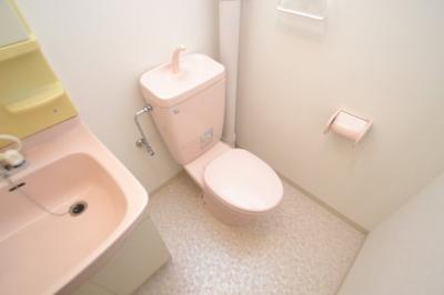 【トイレ】アヴニール六甲Ⅰ
