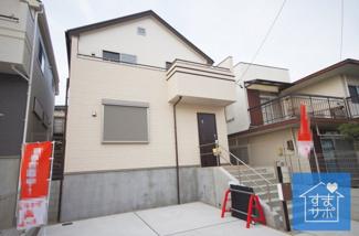 2号棟 現地(2019年4月)撮影 堂々完成しました!即入居可能♪ 土地面積115.70㎡(34.99坪)。 駐車並列2台可能。