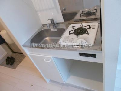 LALA FLATのコンパクトなキッチンで掃除もラクラク(別部屋参考写真)☆