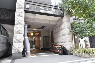 【エントランス】サニーハウス南堀江