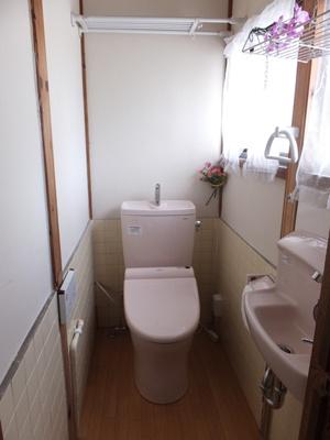 【トイレ】坪井町テラスハウス(長屋)