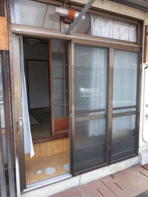 【玄関】坪井町テラスハウス(長屋)