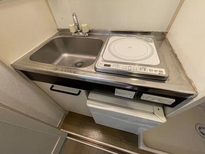 コンパクトなキッチンで掃除もラクラク アライブ・プラザ