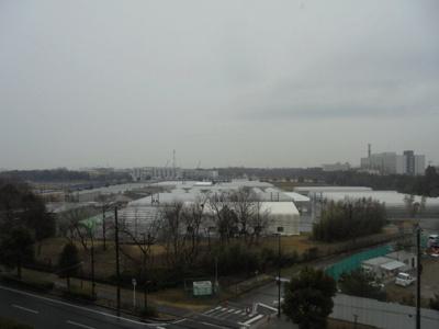 晴れた日にはベランダから富士山が見えます