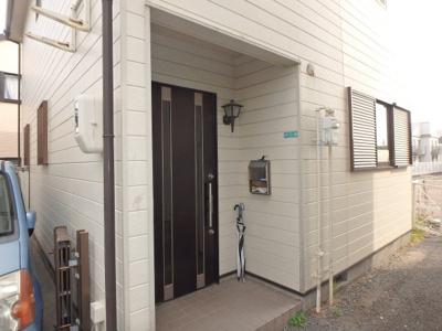 【玄関】荒木町戸建貸家