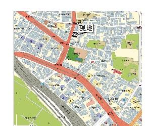 【地図】根岸11番地駐車場
