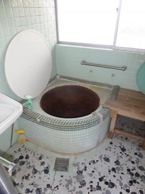 【浴室】林田中古住宅 3K