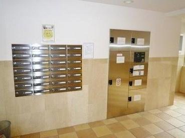 集合ポストと便利な宅配ボックス。