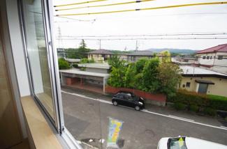1号棟 室内(2019年6月)撮影 2階窓からの眺望。