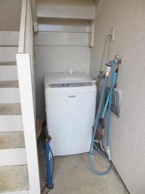 共用無料洗濯機