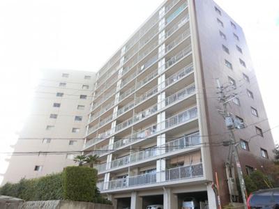 【現地写真】 鉄骨鉄筋コンクリート造の10階建♪ 陽当たりに良いマンションとなっております♪