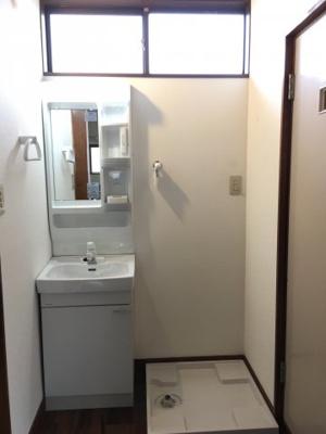 洗面台新規設置☆