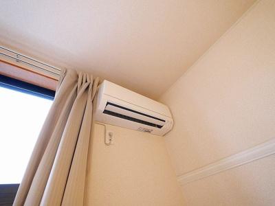 エアコンも完備。