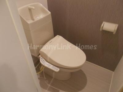ソレイユ上十条のコンパクトで使いやすいトイレです☆