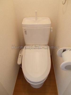 コートレジデンスのトイレ☆