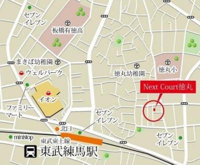 NestCourt 東武練馬の地図