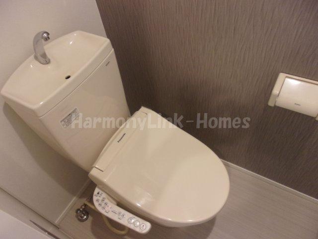 ハーモニーテラス大谷田のコンパクトで使いやすいトイレです☆